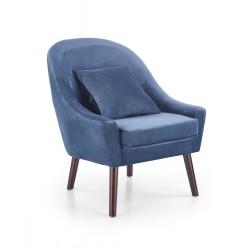 Fotel OPALE ciemny niebieski