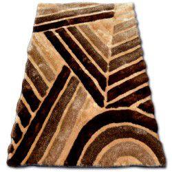Dywan SHAGGY SOFT - 3D TY131 brąz